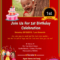 001 1St Birthday Invitation Wording Samples In Tamil With First Birthday Invitation Card Template