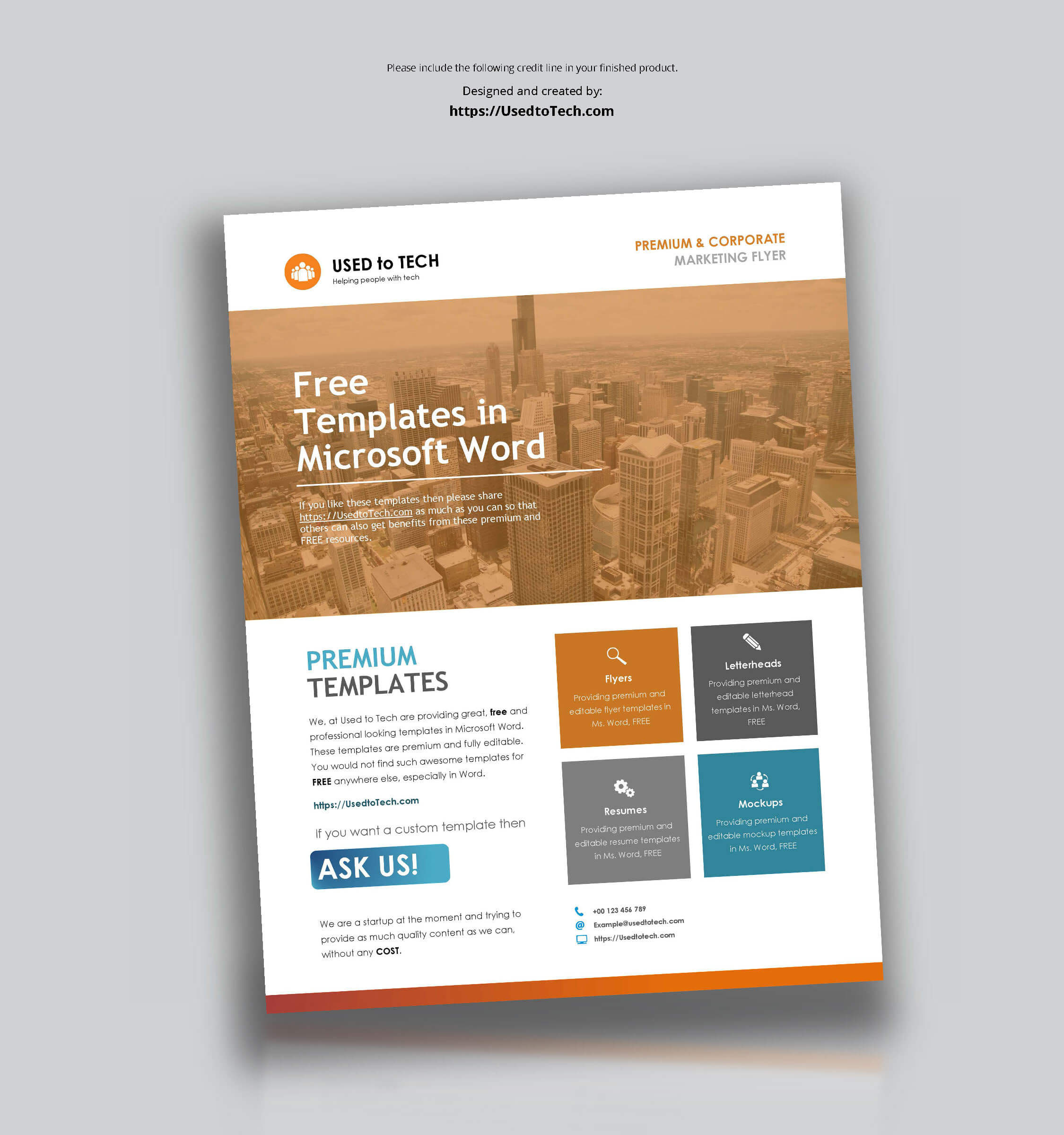 001 Corporate Flyer Template In Word Free Templates For Throughout Templates For Flyers In Word