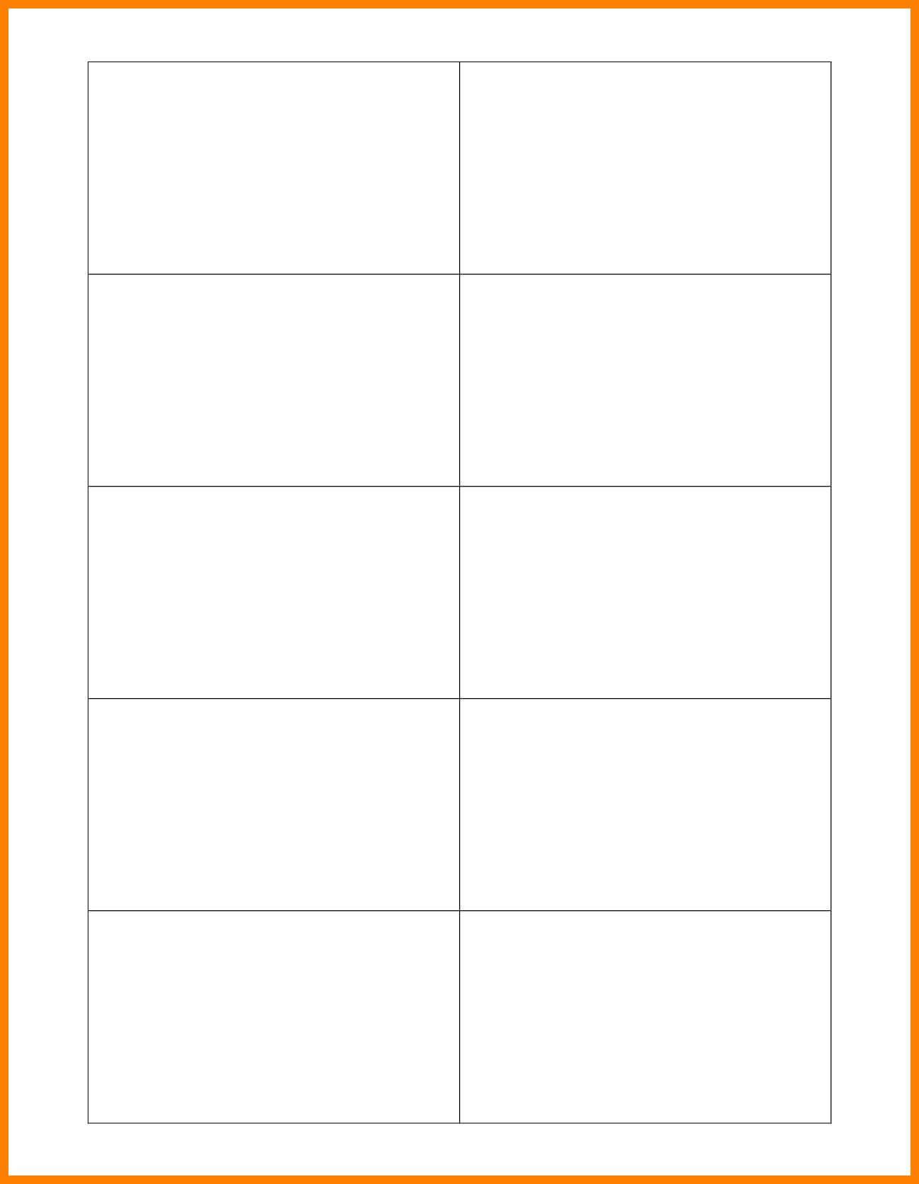 001 Microsoft Word Blank Business Card Template Free For Word 2013 Business Card Template