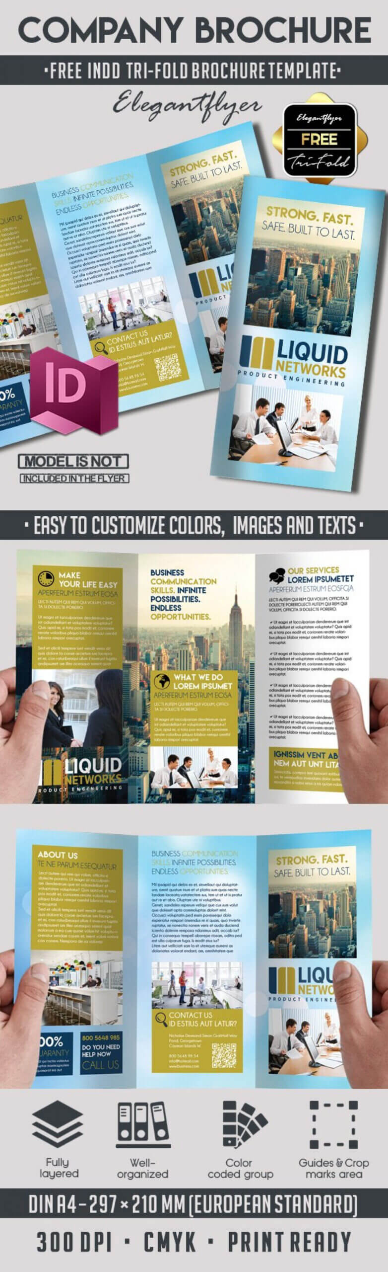 002 Adobe Indesign Tri Fold Brochure Template Real Estate With Regard To Adobe Indesign Tri Fold Brochure Template