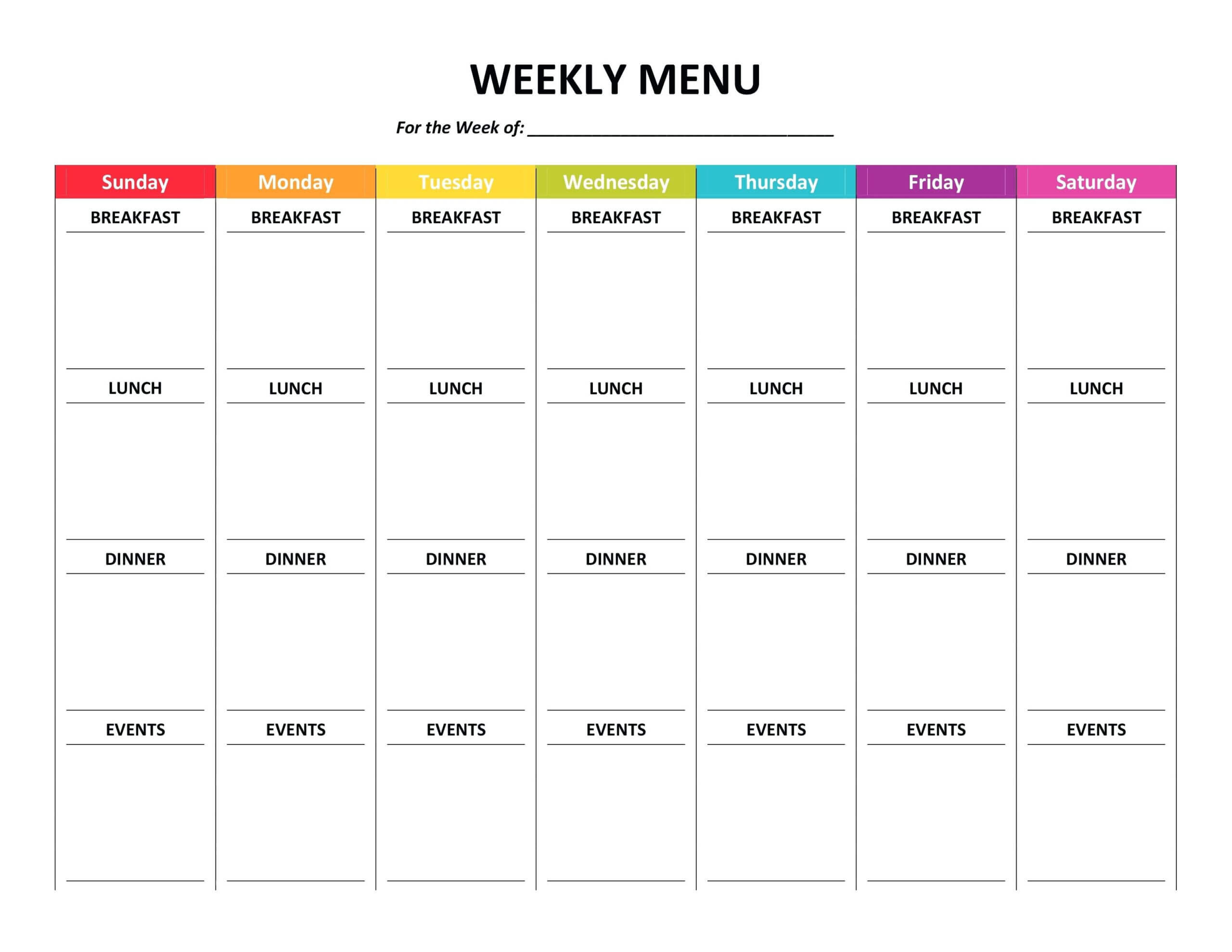 002 Template Ideas Free Meal Planning Templates Word Plan Inside Weekly Meal Planner Template Word