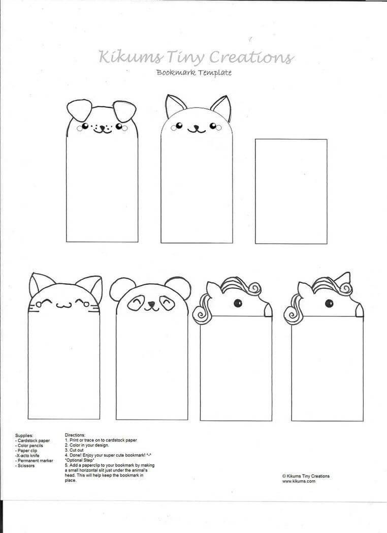 002 Template Ideas Free Printable Bookmark Templates Pertaining To Free Blank Bookmark Templates To Print