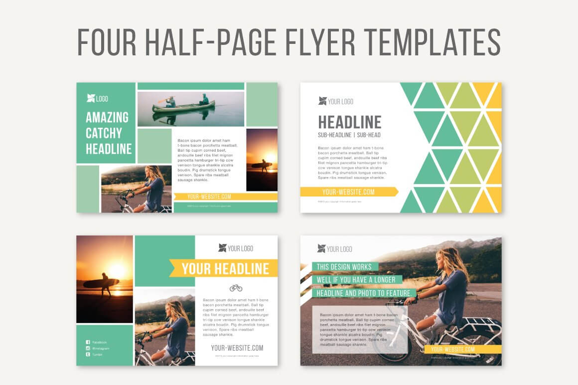 002 Template Ideas Half Page Flyer Free Screenshot Pertaining To Quarter Sheet Flyer Template Word