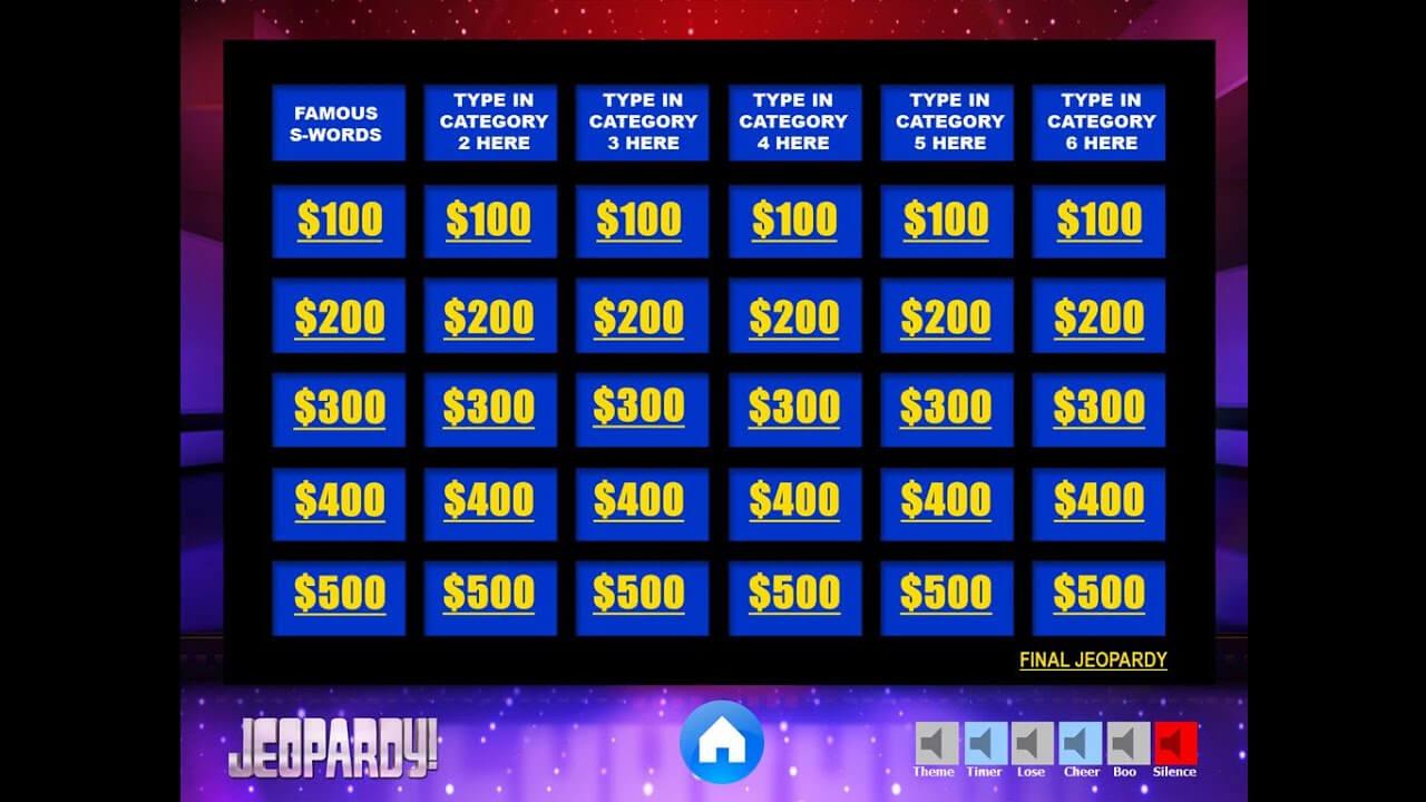 002 Template Ideas Jeopardy Powerpoint With Score Excellent Regarding Jeopardy Powerpoint Template With Score