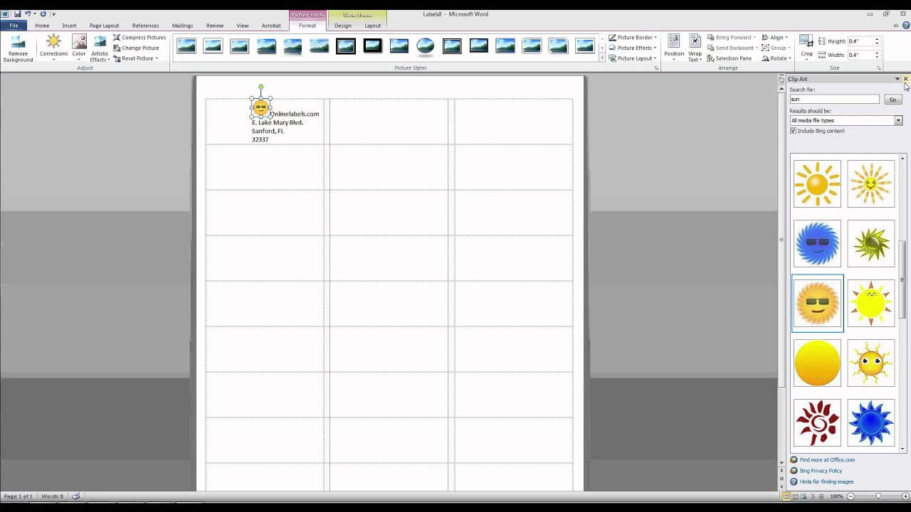 002 Template Ideas Maxresdefault Microsoft Word Address Pertaining To Label Template 21 Per Sheet Word