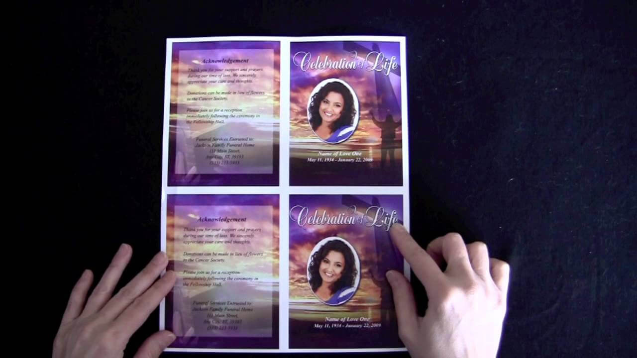 003 Funeral Memorial Cards With Regard To For Template Free For Memorial Cards For Funeral Template Free