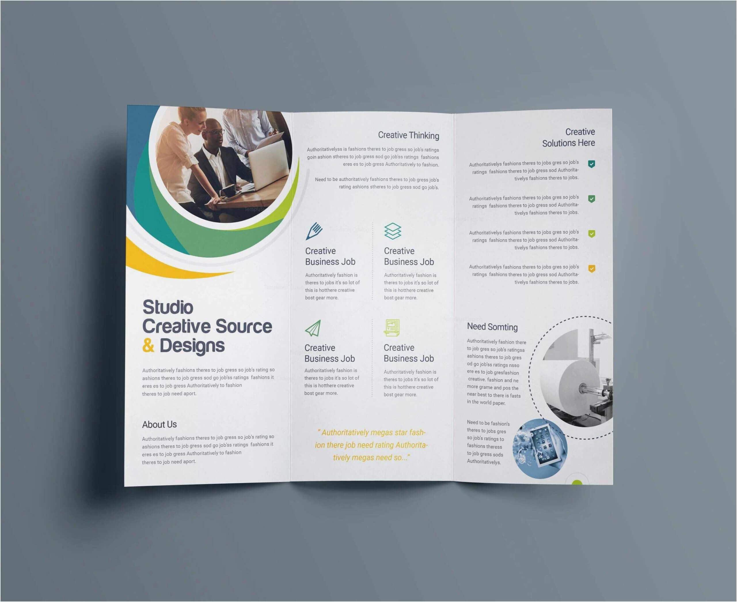 003 Ms Publisher Brochure Templates Free Download Template With Regard To Free Template For Brochure Microsoft Office