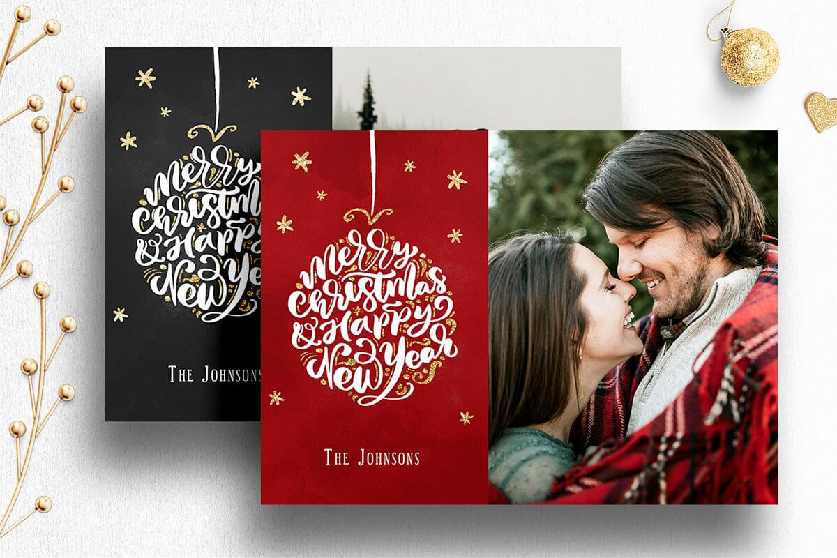 003 Photoshop Christmas Cards Templates Template Ideas Throughout Free Photoshop Christmas Card Templates For Photographers