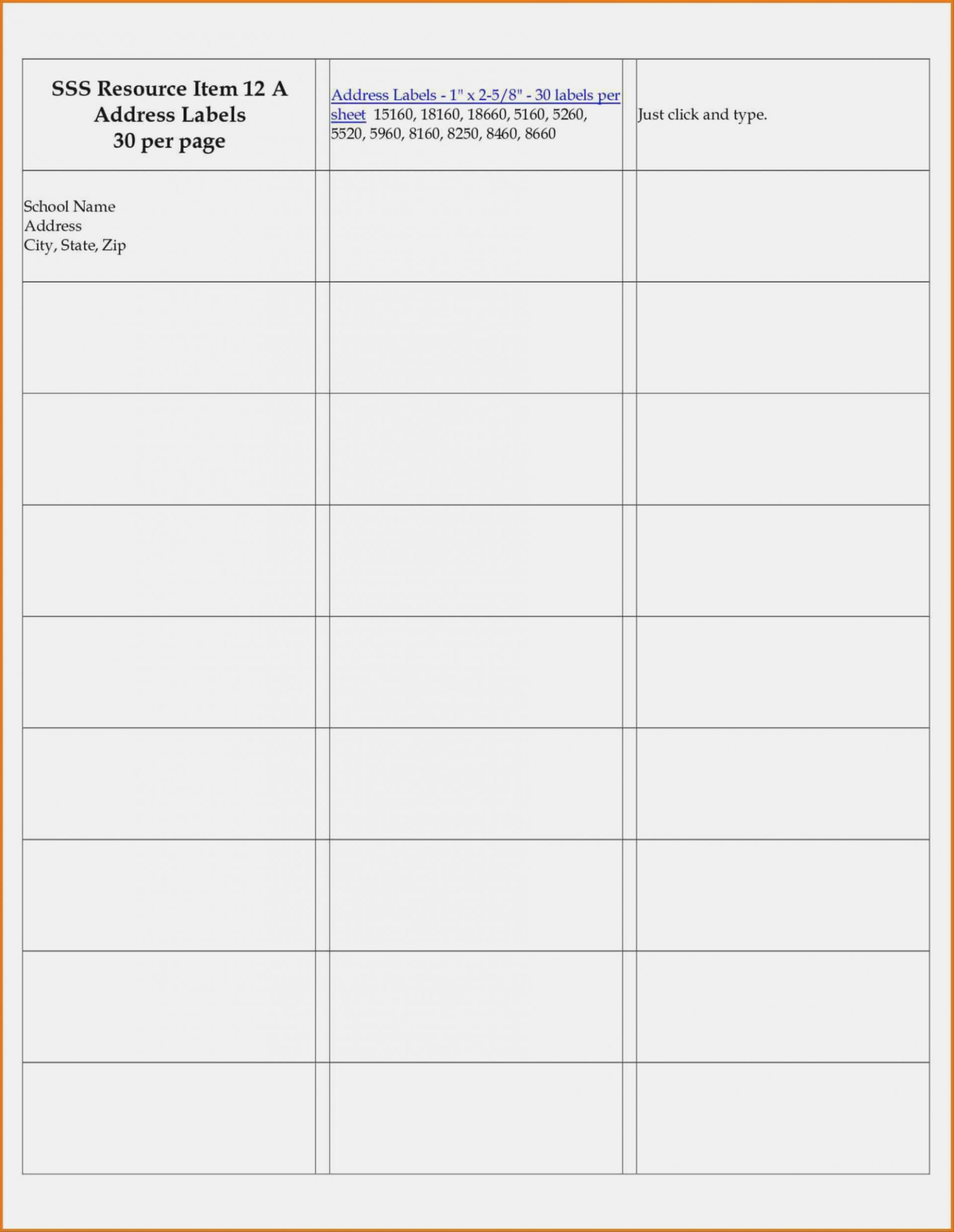 003 Template Ideas Label Templates For Word Per Sheet Labels Inside Word Label Template 12 Per Sheet