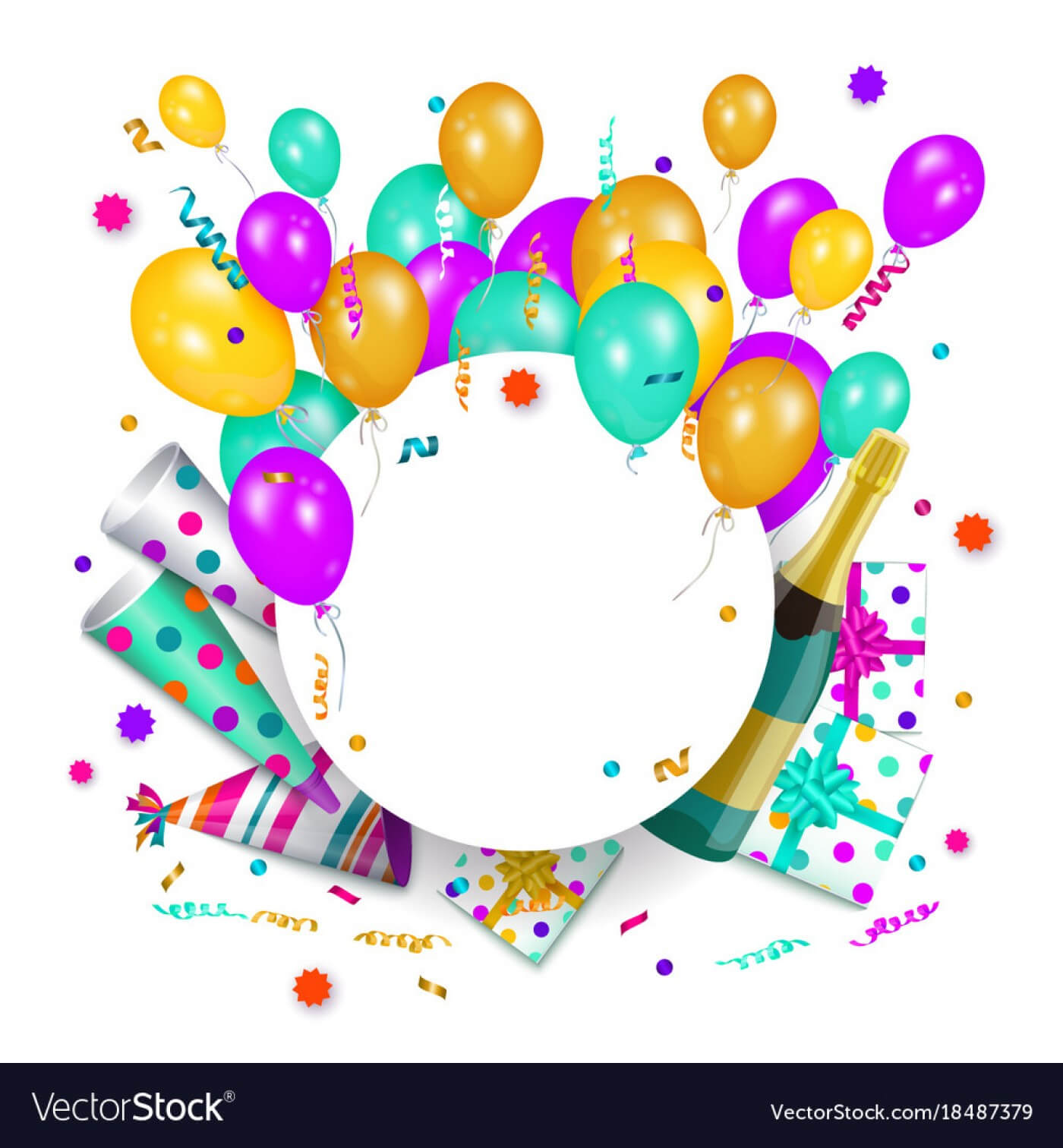 005 Happy Birthday Banner Poster Template Vector Ideas Throughout Free Happy Birthday Banner Templates Download