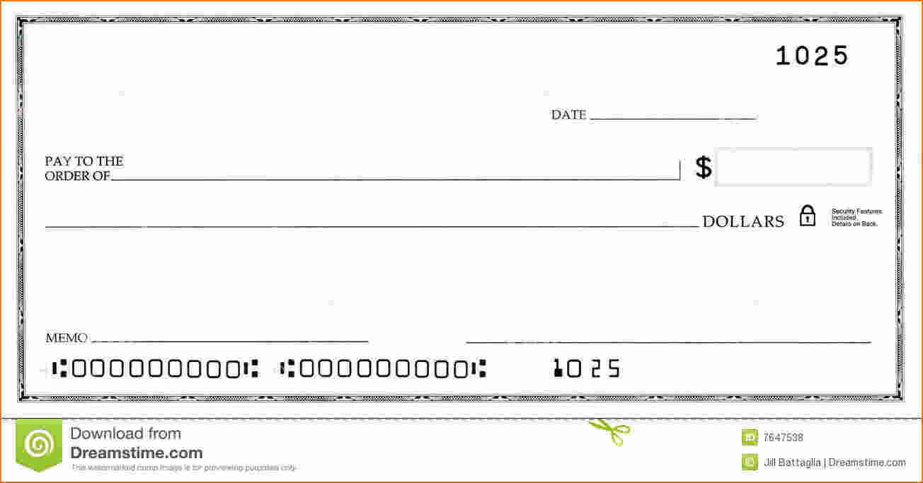 005 Template Ideas Blank Business Check Word False Numbers With Regard To Large Blank Cheque Template