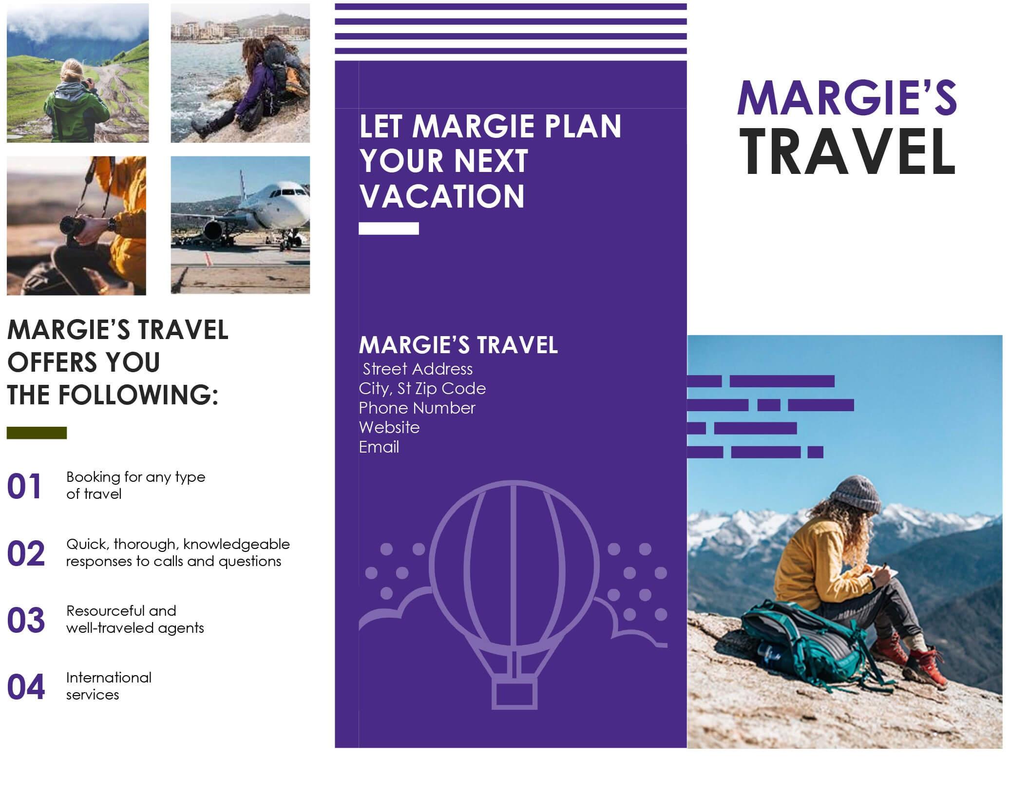 005 Template Ideas Travel Brochure Templates Free Download Throughout Word Travel Brochure Template
