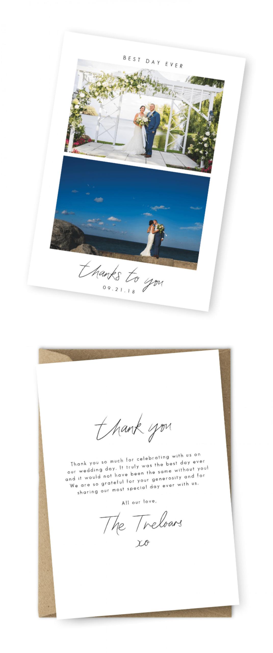 005 Wedding Thank You Card Wording Message Ideas Template Regarding Template For Wedding Thank You Cards