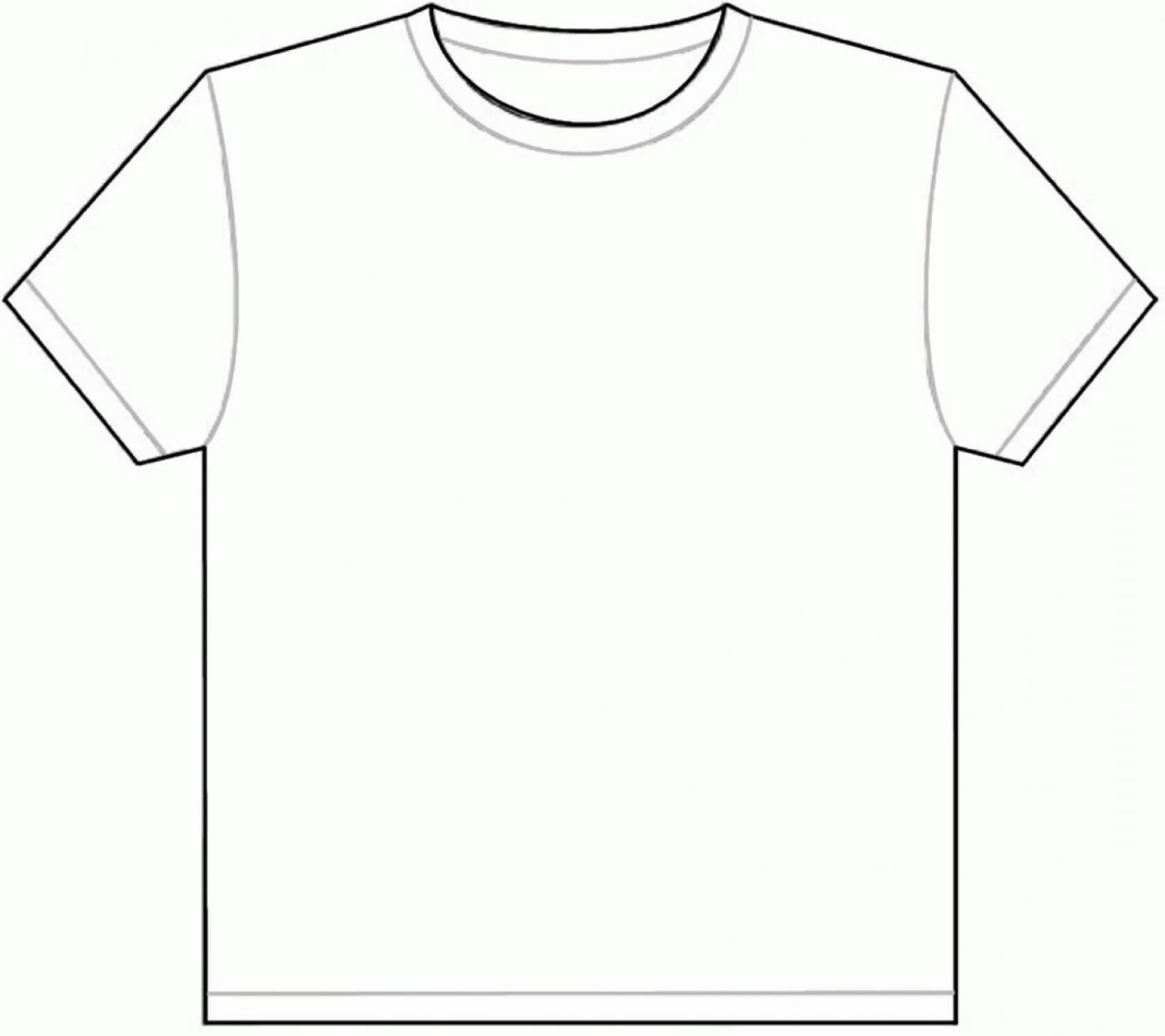 006 Blank Tee Shirt Template T Shirts Vector Beautiful Ideas Inside Blank Tee Shirt Template