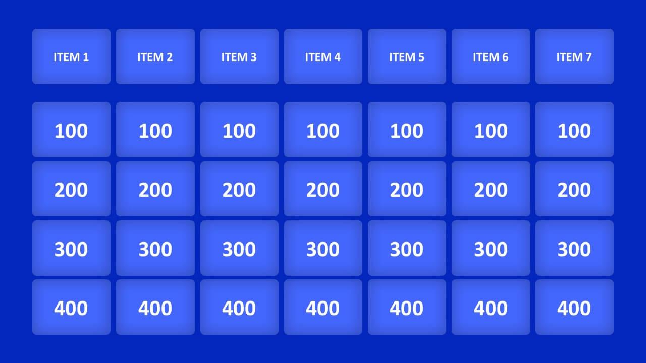 006 Jeopardy Powerpoint Template With Score Ideas 16X9 Pertaining To Jeopardy Powerpoint Template With Score