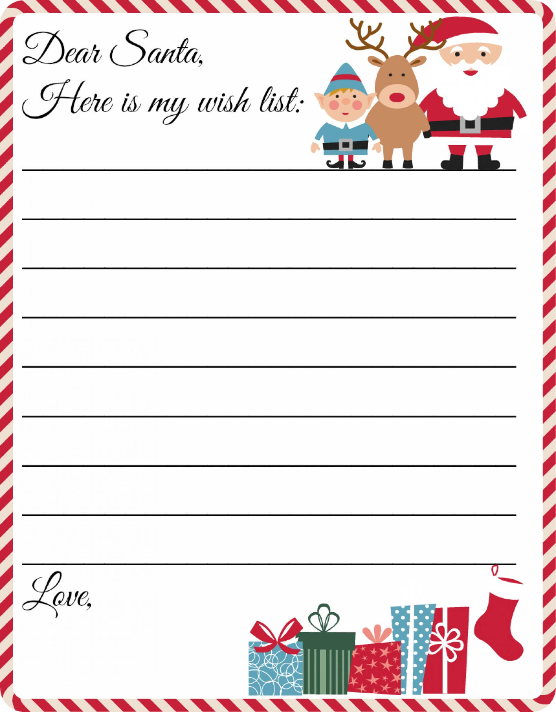 006 Template Ideas Ms Word Letter From Santa Letters To Throughout Letter From Santa Template Word