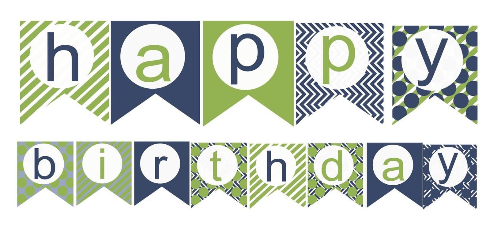 009 Happy Birthday Banner Template Unbelievable Ideas Throughout Free Happy Birthday Banner Templates Download