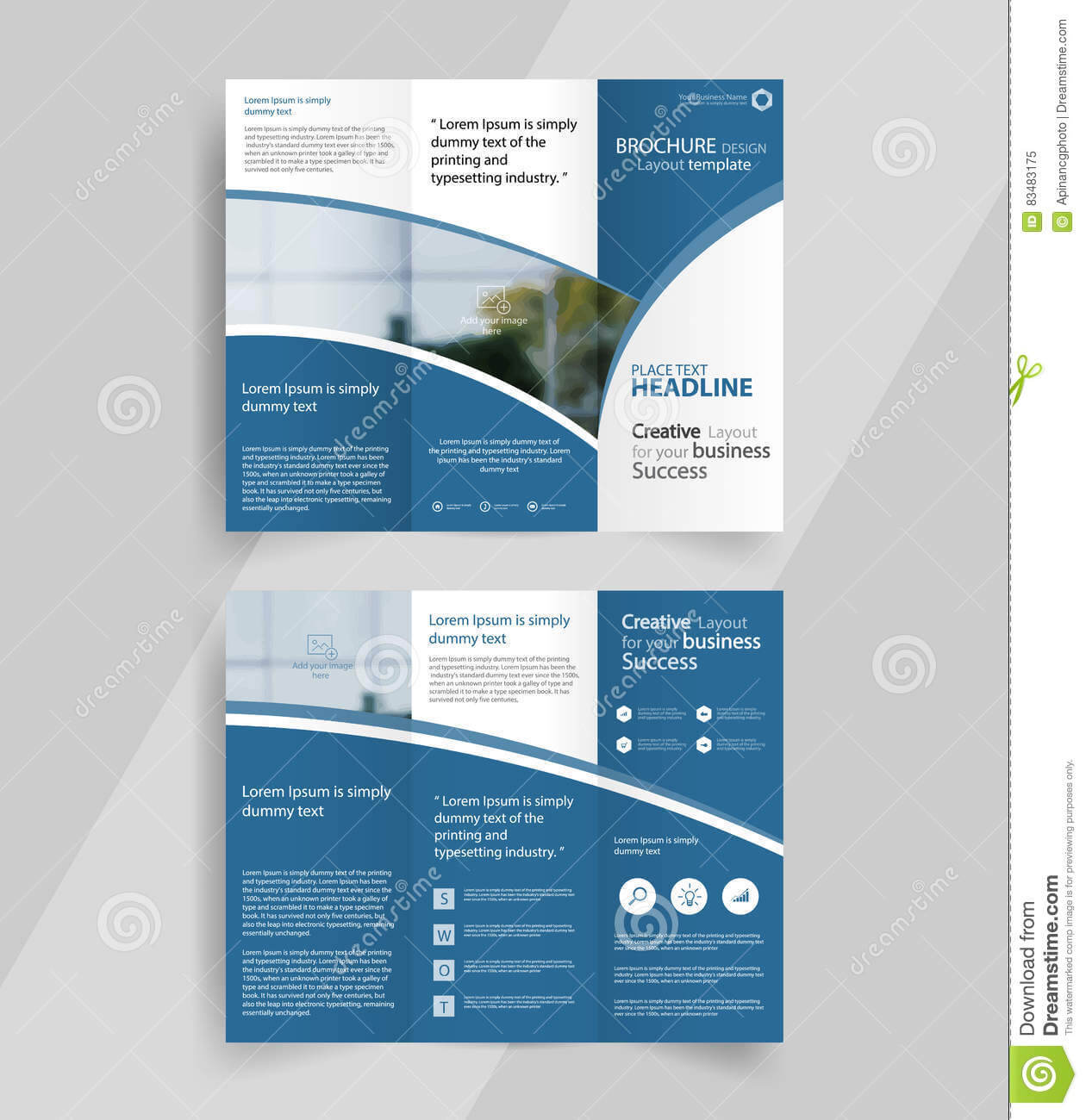 009 Tri Fold Brochure Template Free Download Ai Business For Illustrator Brochure Templates Free Download