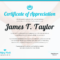 010 Certificates Of Appreciation Templates Template Awesome In Christian Certificate Template