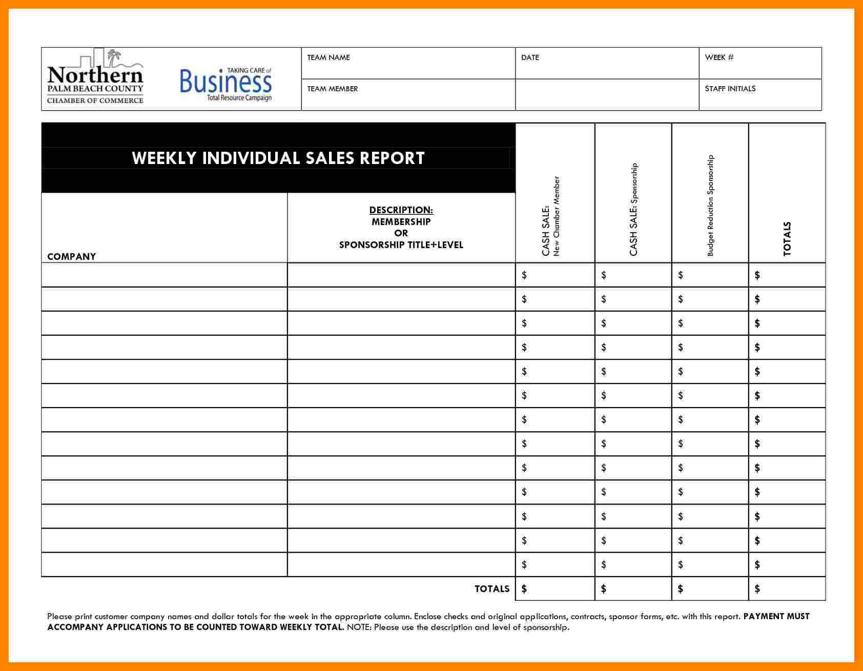 010 Daily Activity Report Template Free Download Salesll For Daily Sales Call Report Template Free Download