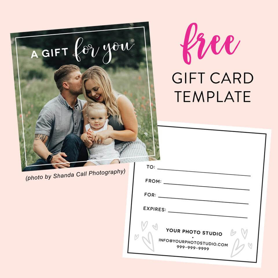 010 Template Ideas Photo Session Gift Certificate Free Card Intended For Free Photography Gift Certificate Template