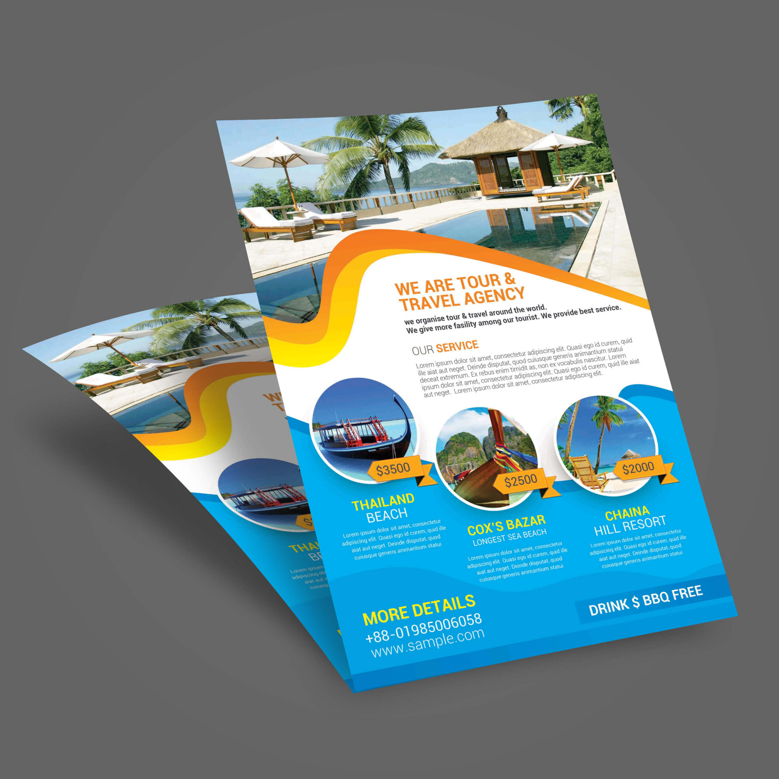 011 Template Ideas Travel Tour Flyer Brochure Templates Free Within Travel And Tourism Brochure Templates Free