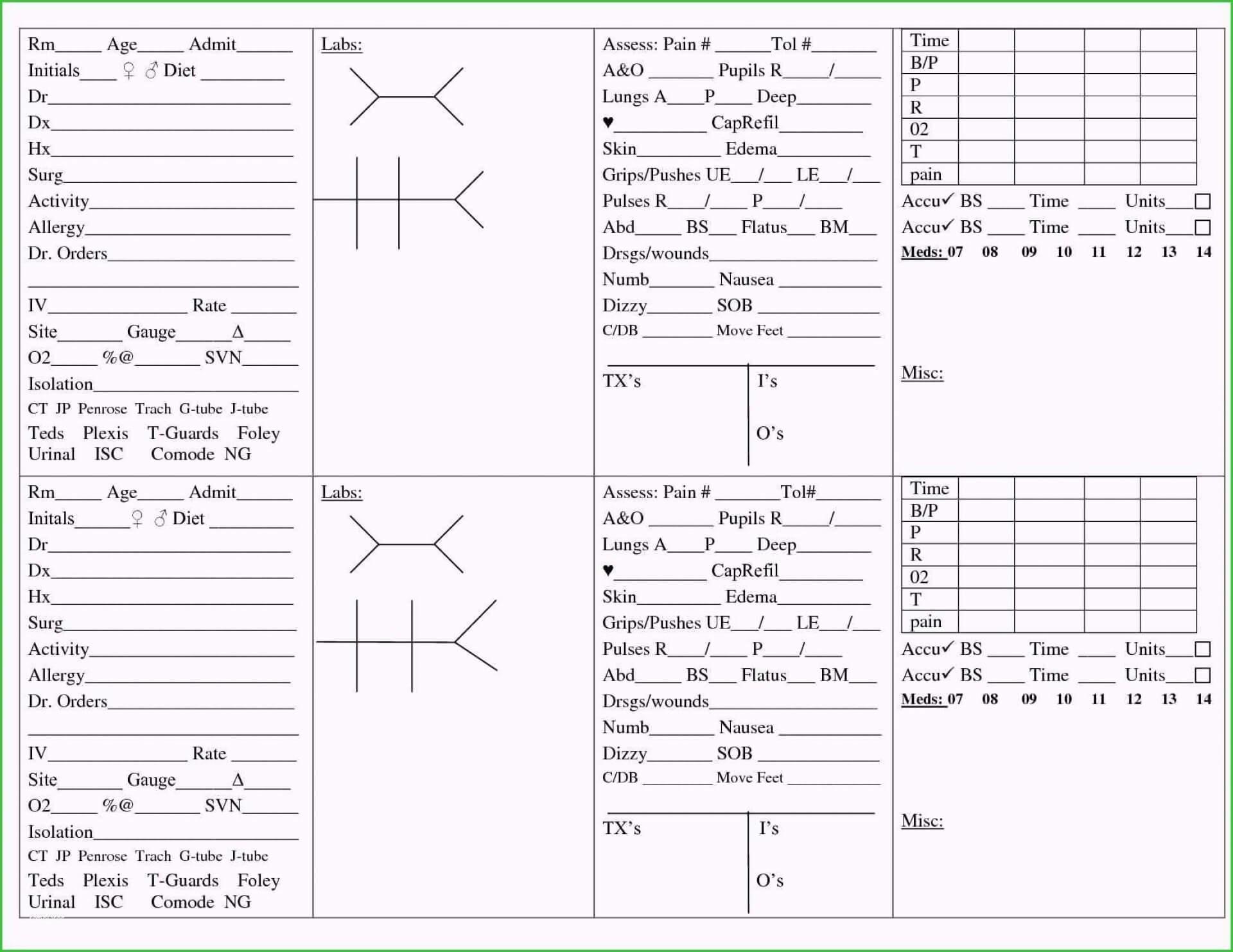 014 Nursing Shift Report Template Unforgettable Ideas Pdf Throughout Nurse Report Template