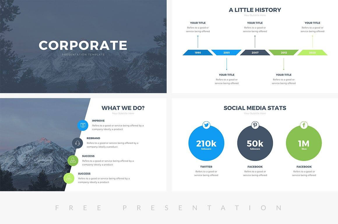 014 Template Ideas Professional Biography Powerpoint Throughout Biography Powerpoint Template
