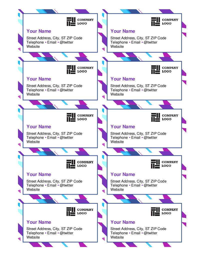 015 Template Ideas Microsoft Business Card Templates Throughout Ms Word Business Card Template