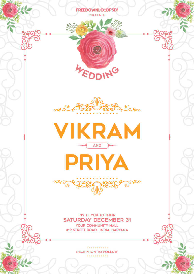 015 Template Ideas Wedding Invitation Free Download Unique Within Minion Card Template