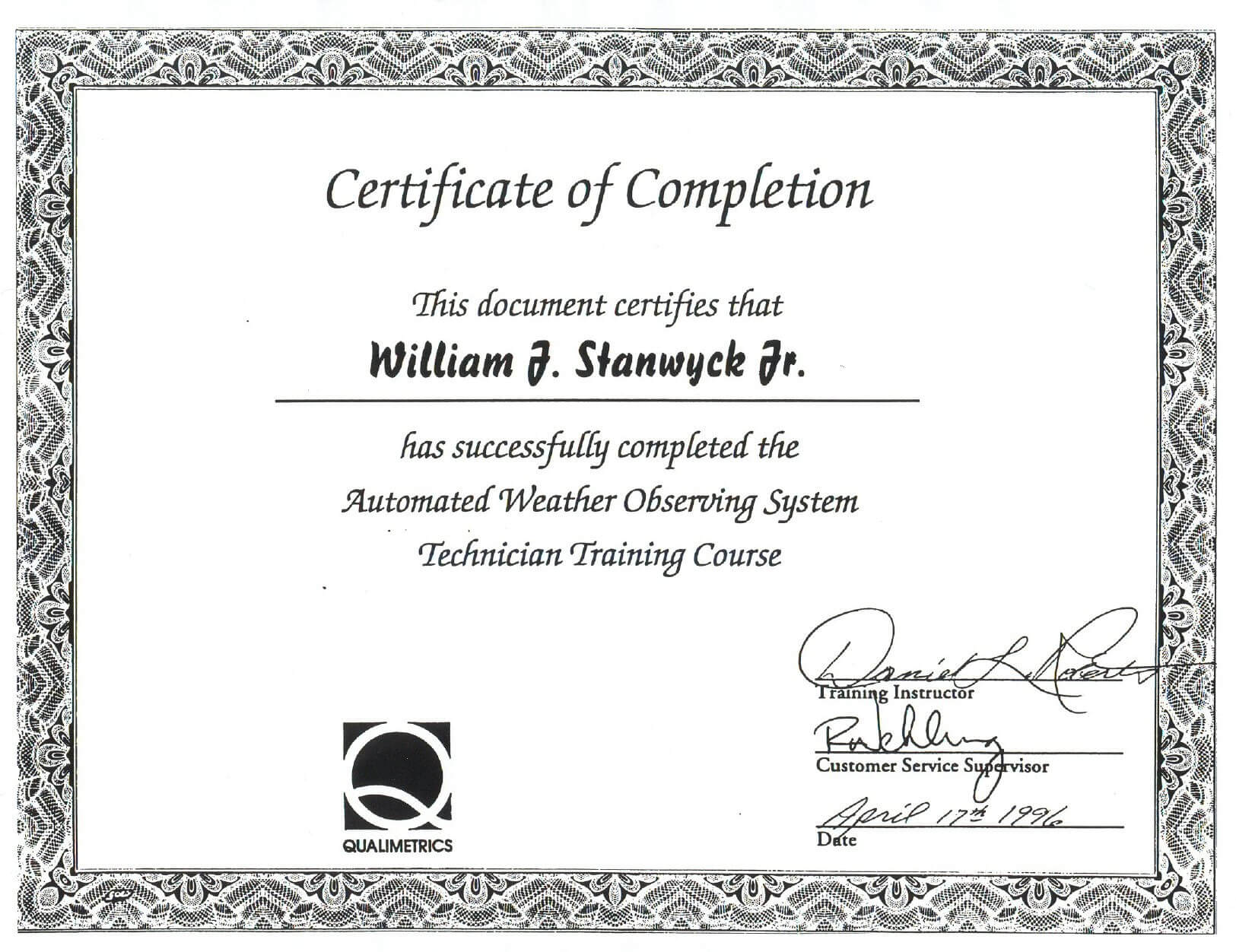 016 Template Ideas Safety Training Certificate Free Pertaining To This Certificate Entitles The Bearer Template