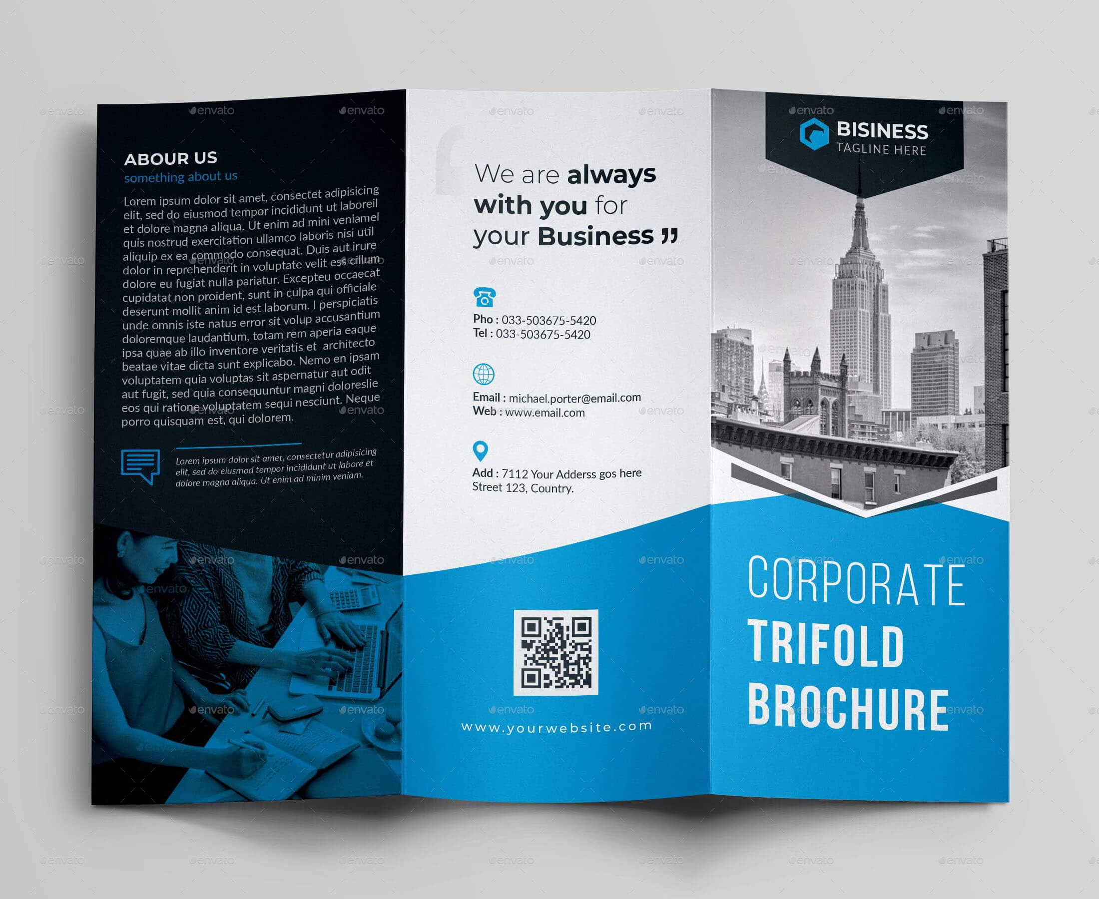 017 Template Ideas Corporate Brochure Templates Psd Free Inside Architecture Brochure Templates Free Download