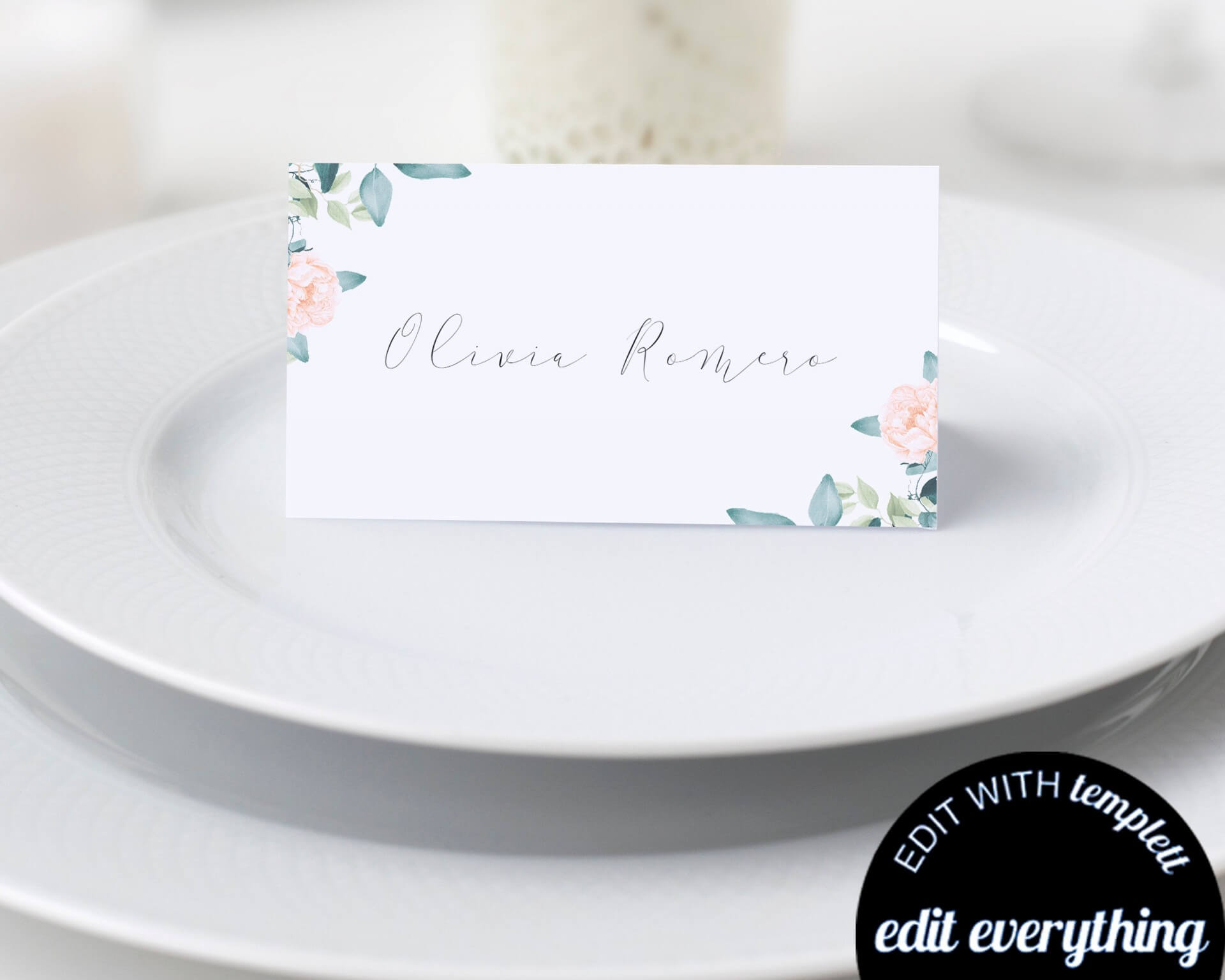 019 Template For Place Cards Il Fullxfull 1542140750 Dg3V With Regard To Place Card Template Free 6 Per Page