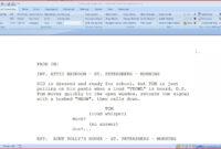 020 Microsoft Word Screenplay Template Ideas Format intended for Microsoft Word Screenplay Template