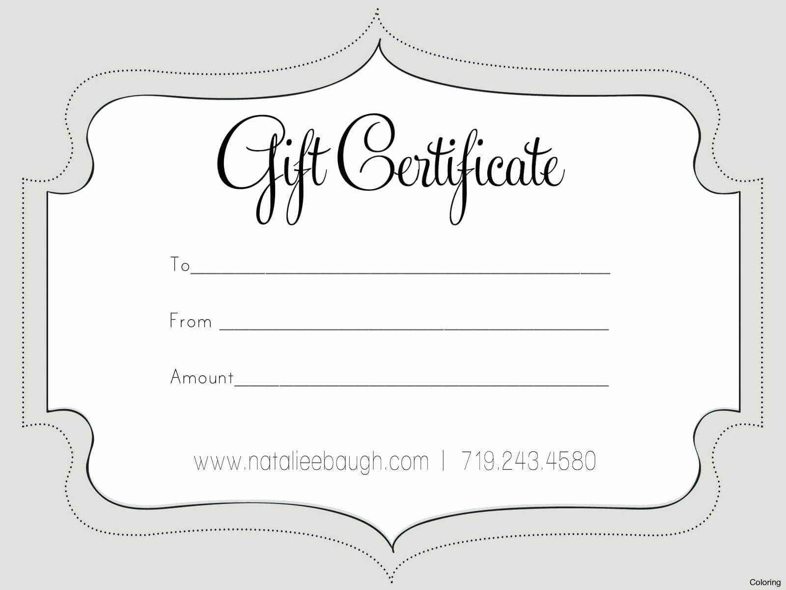 022 Gift Registry Card Template Free New Nail Certificate Intended For Nail Gift Certificate Template Free