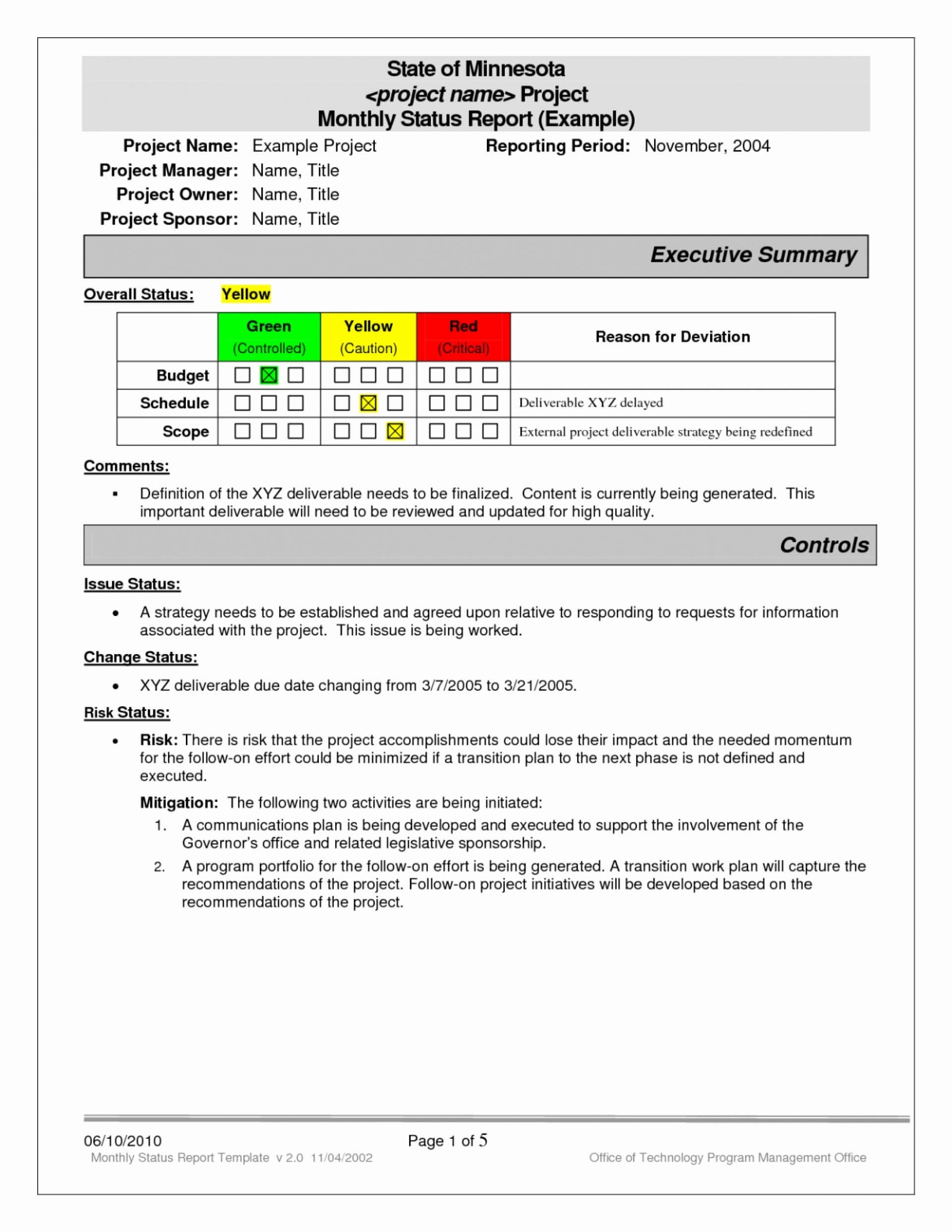 023 Excel Project Status Report Weekly Template 4Vy49Mzf With Software Testing Weekly Status Report Template