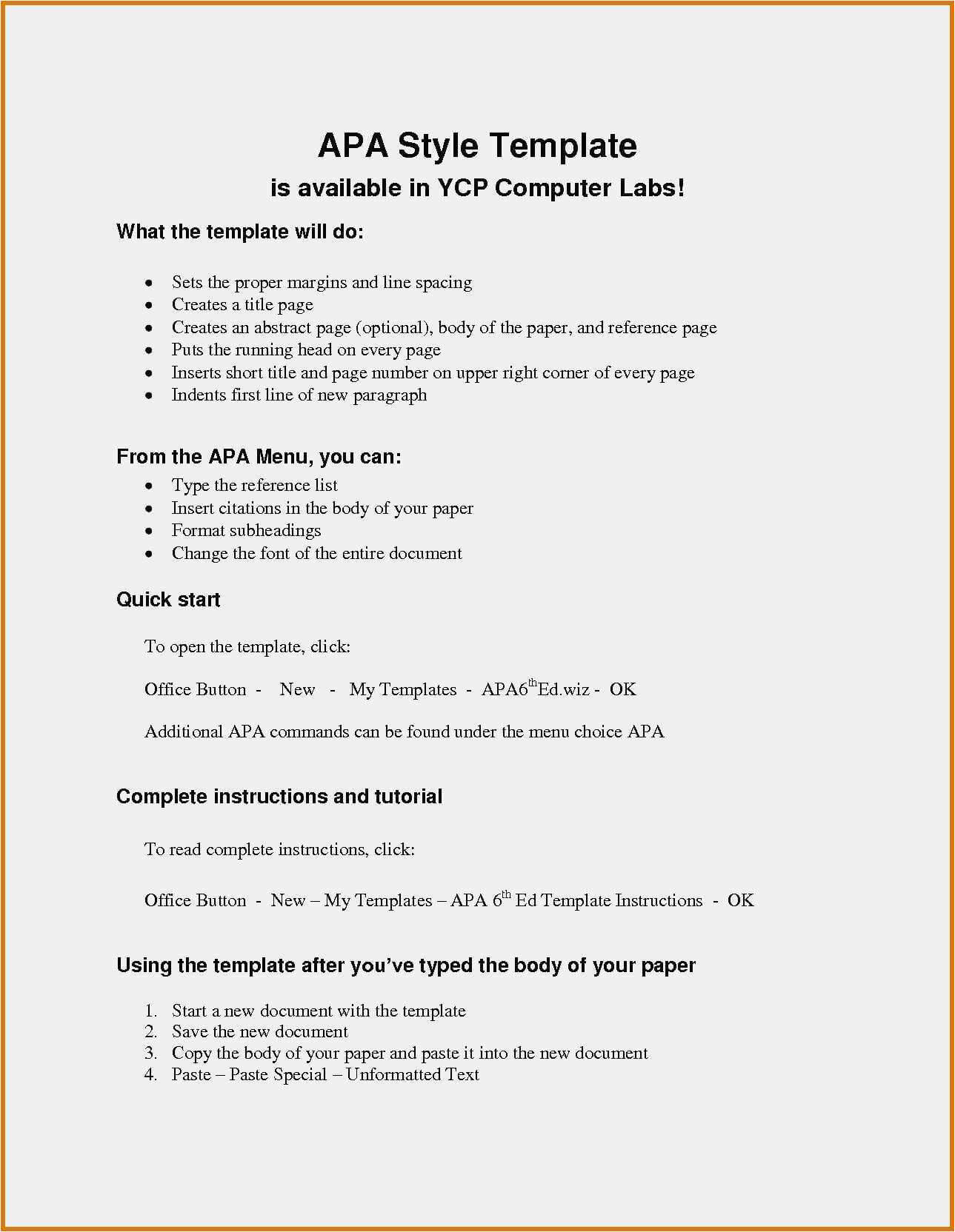 024 Apa Reference Page Template Word Style Paper Format With Apa Research Paper Template Word 2010