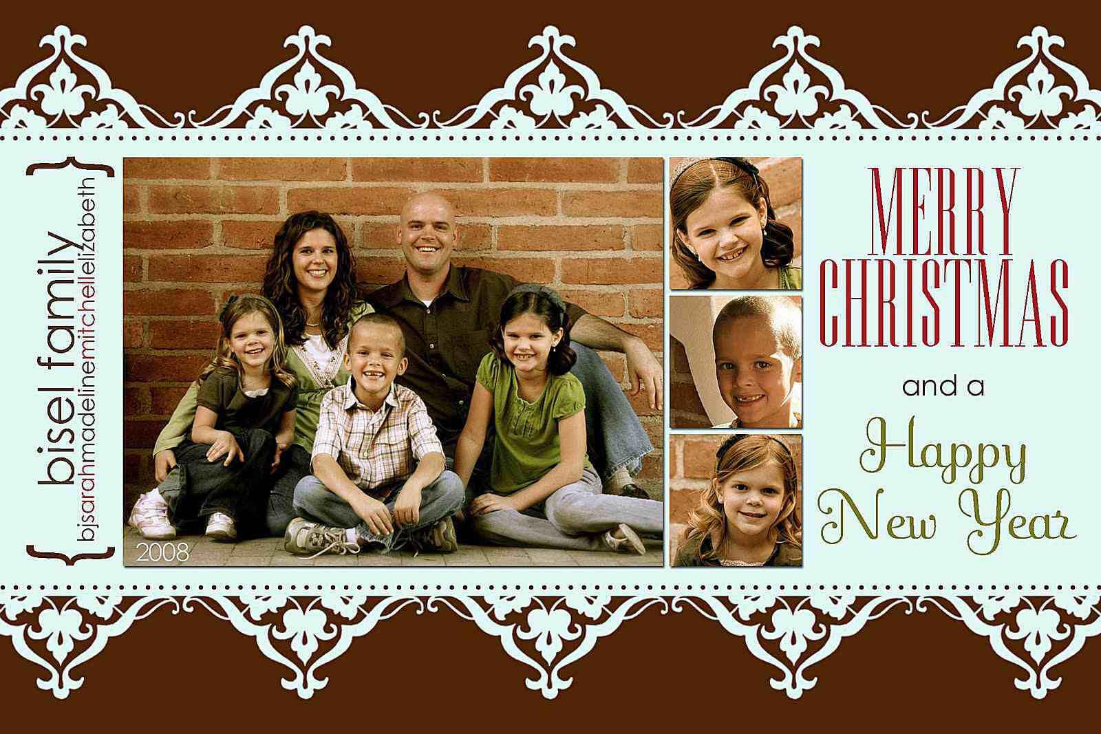 024 Milk And Honey Designs Free Christmas Card Templates For Free Christmas Card Templates For Photographers