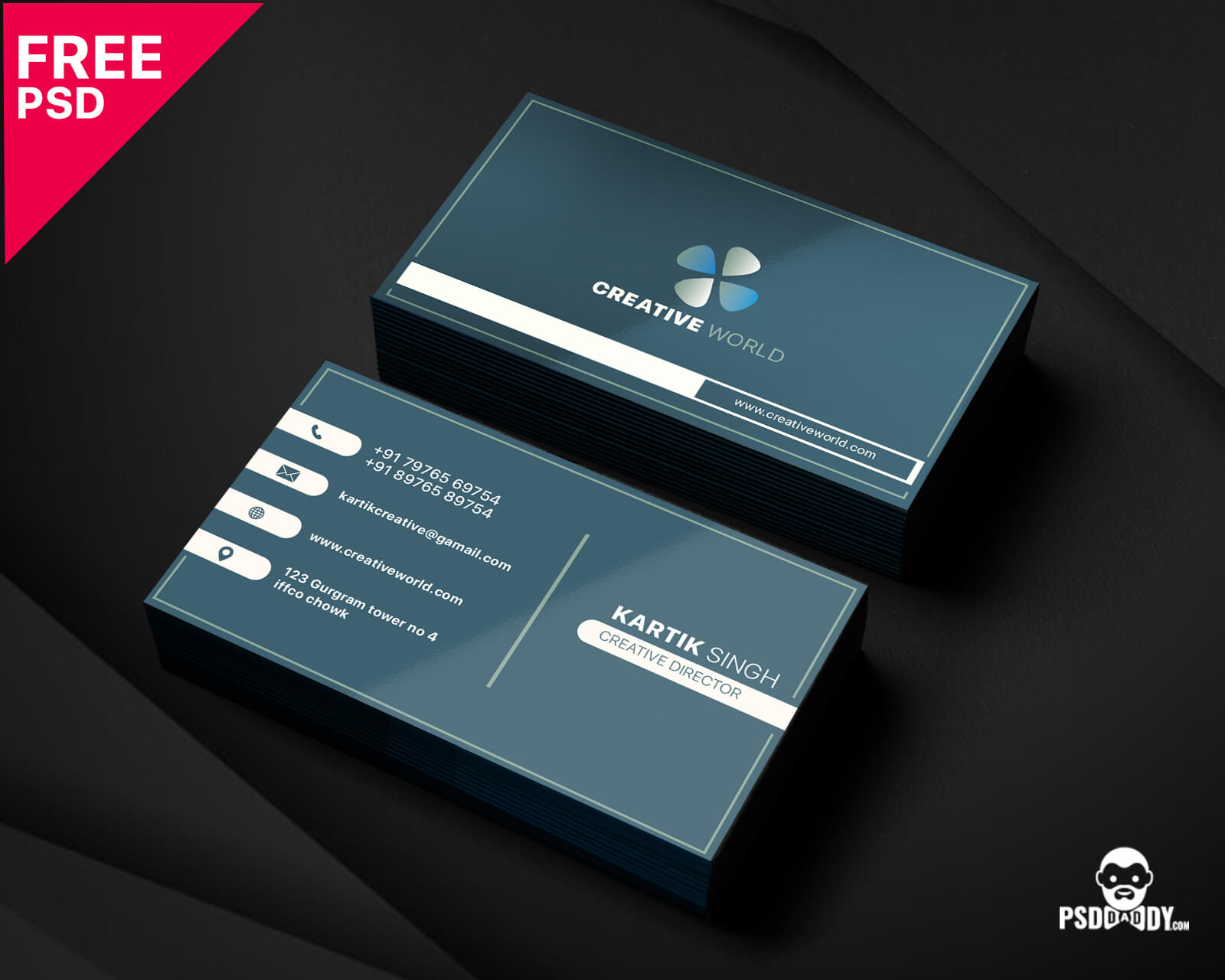 024 Simple Business Card Templates Modern Corporate Template Intended For Microsoft Templates For Business Cards