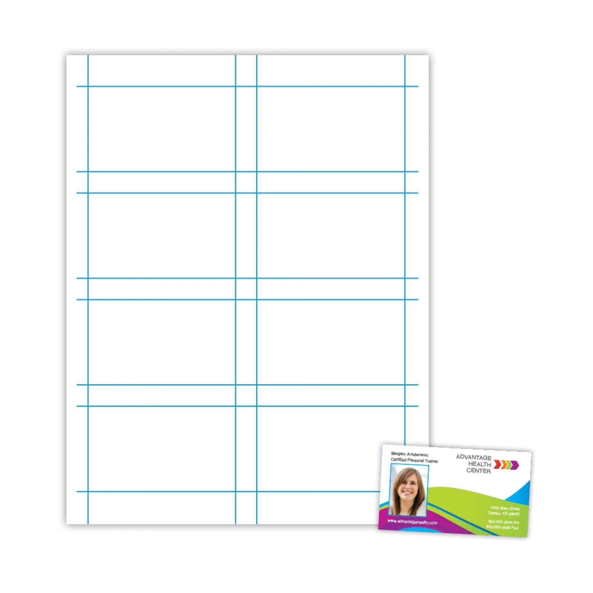 025 Plain Business Card Template Blank Microsoft Word Free Intended For Plain Business Card Template Microsoft Word