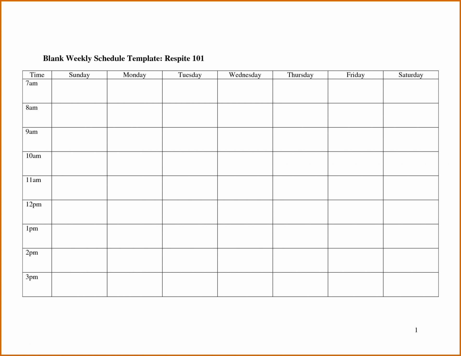 025 Template Ideas Free Printable Work Schedule Templates Regarding Blank Monthly Work Schedule Template