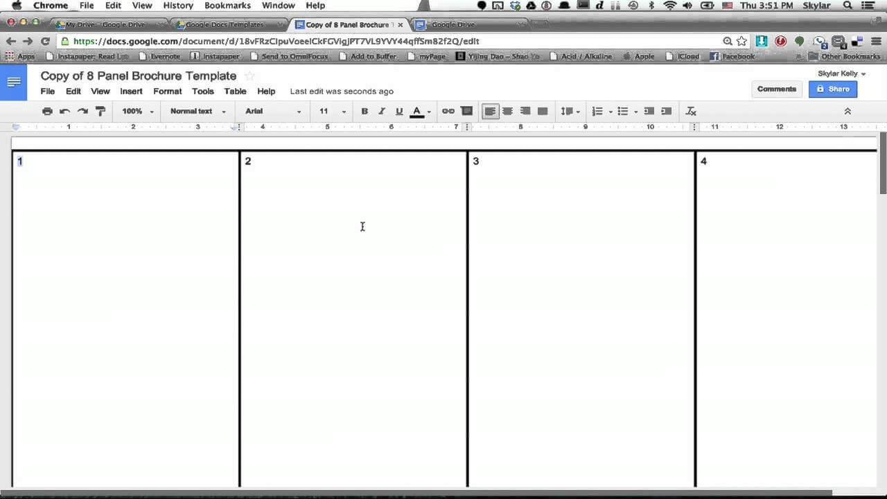 026 Brochure Templates Google Drive Tri Fold Template Intended For Brochure Templates Google Drive