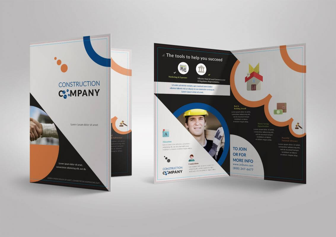 026 Half Page Flyer Template Free Cool Fold Brochure Lera Throughout Half Page Brochure Template