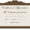 028 Certificate Of Appreciation Template Word Doc Free With Iq Certificate Template