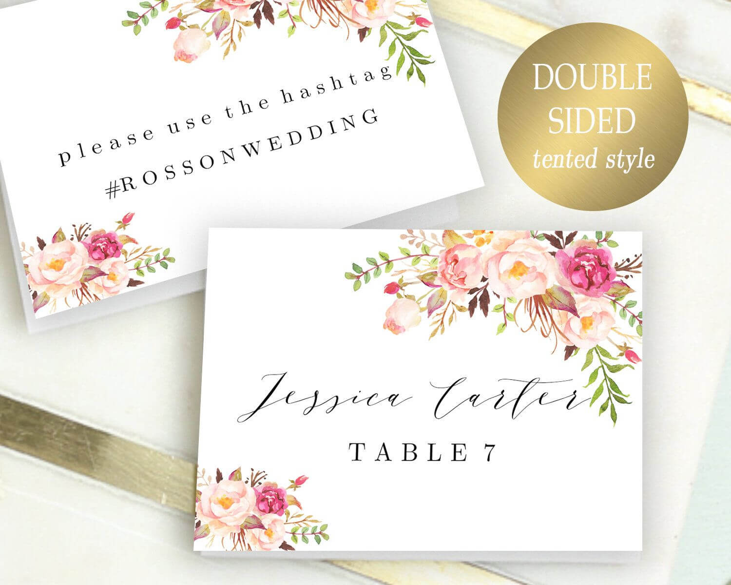 030 Printable Place Cards Template Ideas Breathtaking Free In Christmas Table Place Cards Template