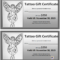 031 Free Printable Gift Certificates Restaurant Ideas Model Intended For Tattoo Gift Certificate Template