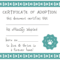 032 Template Ideas Blank Service Dog Certificate Screen Shot Inside Adoption Certificate Template