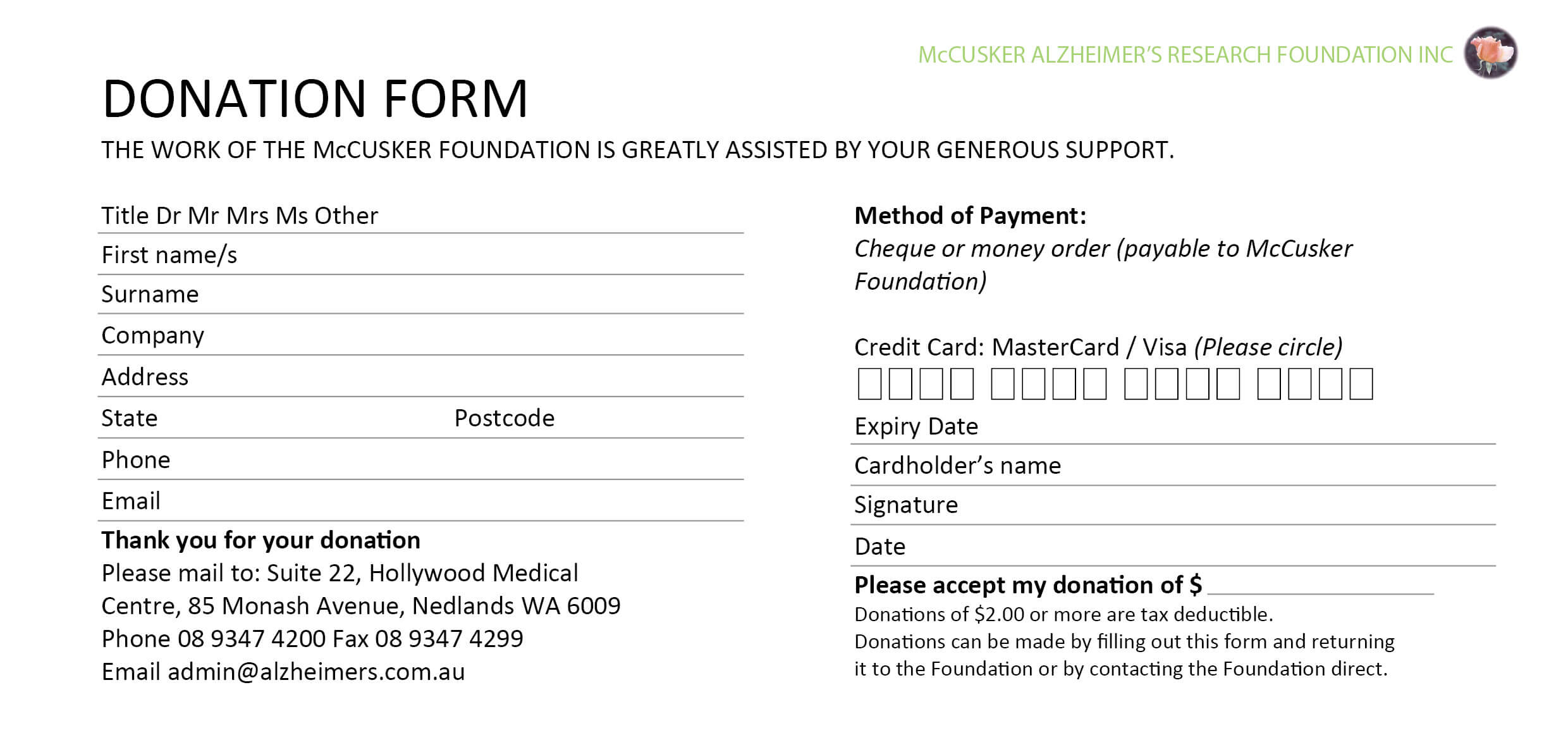037 Fundraising Request Form Template Card Donation 458179 Intended For Donation Card Template Free