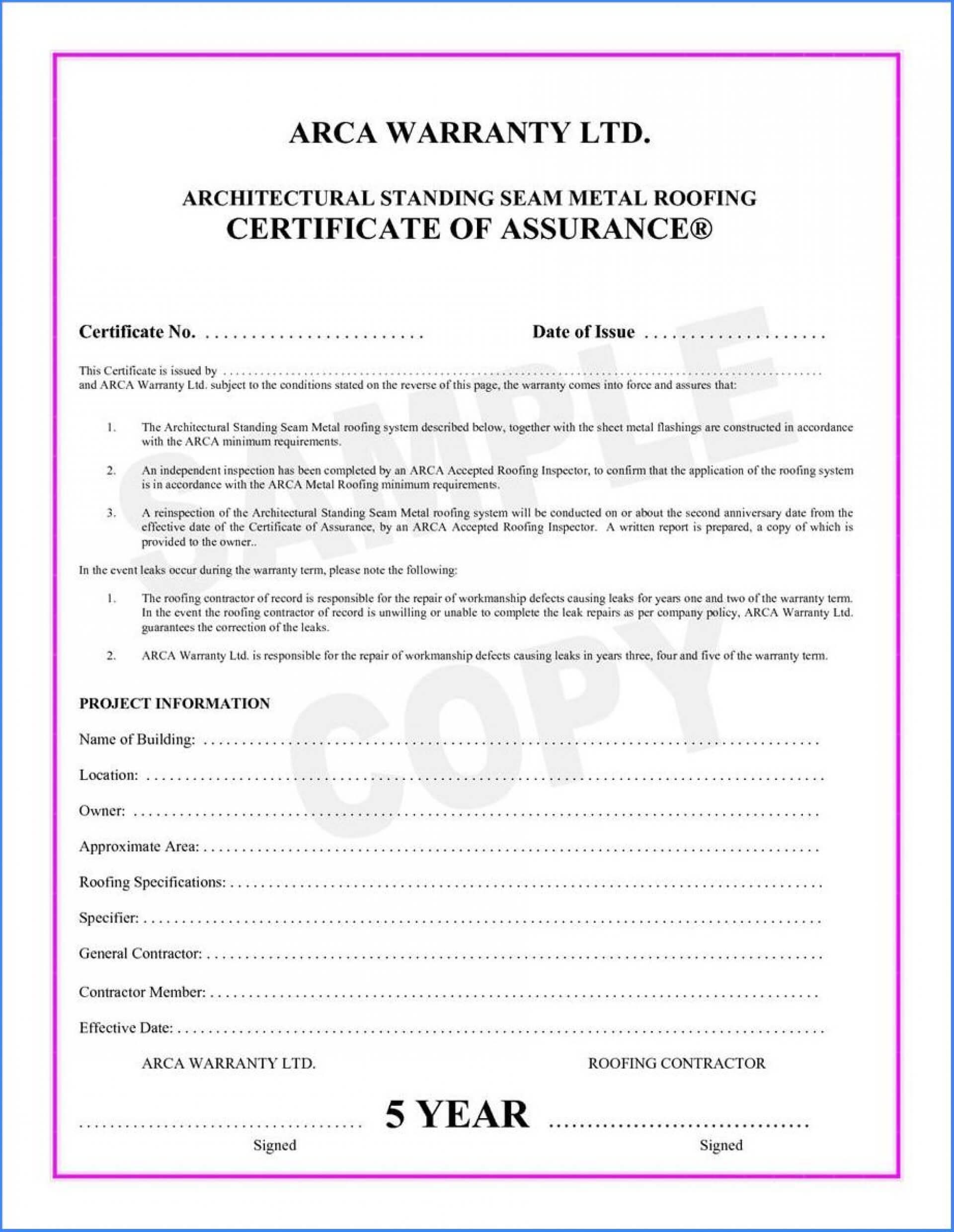 038 Template Ideas Certificate Of Final Completion Form For Regarding Construction Certificate Of Completion Template
