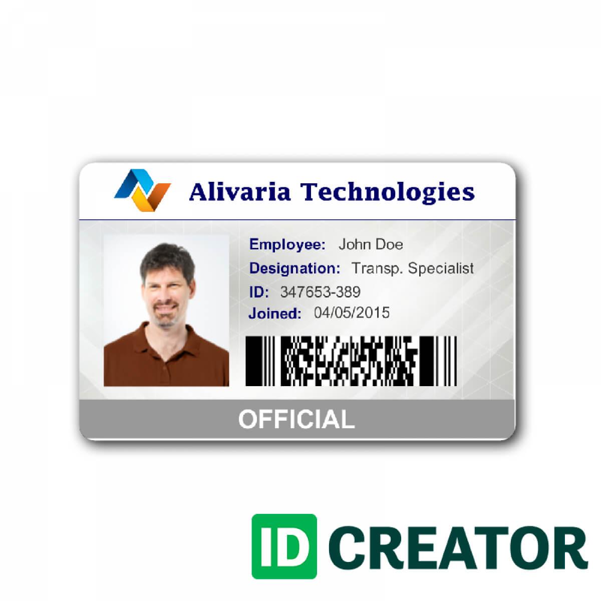 039 Adding Employee Id Card Template Microsoft Word Free Throughout Id Card Template For Microsoft Word